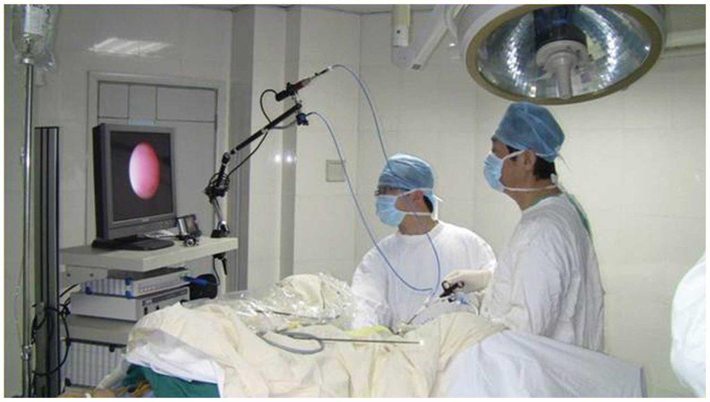 Ureteroscopy And Laser Treatment Of Stones